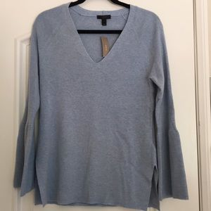 NWT J.Crew Blue Sweater SOFT
